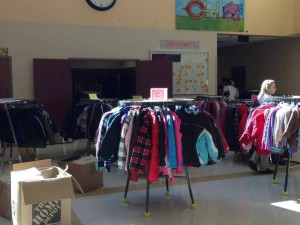 coat drive little red schoolhouse