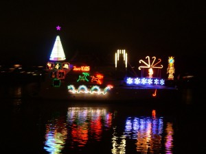 Dancing Lights Marine Christmas Show @ Percival Landing