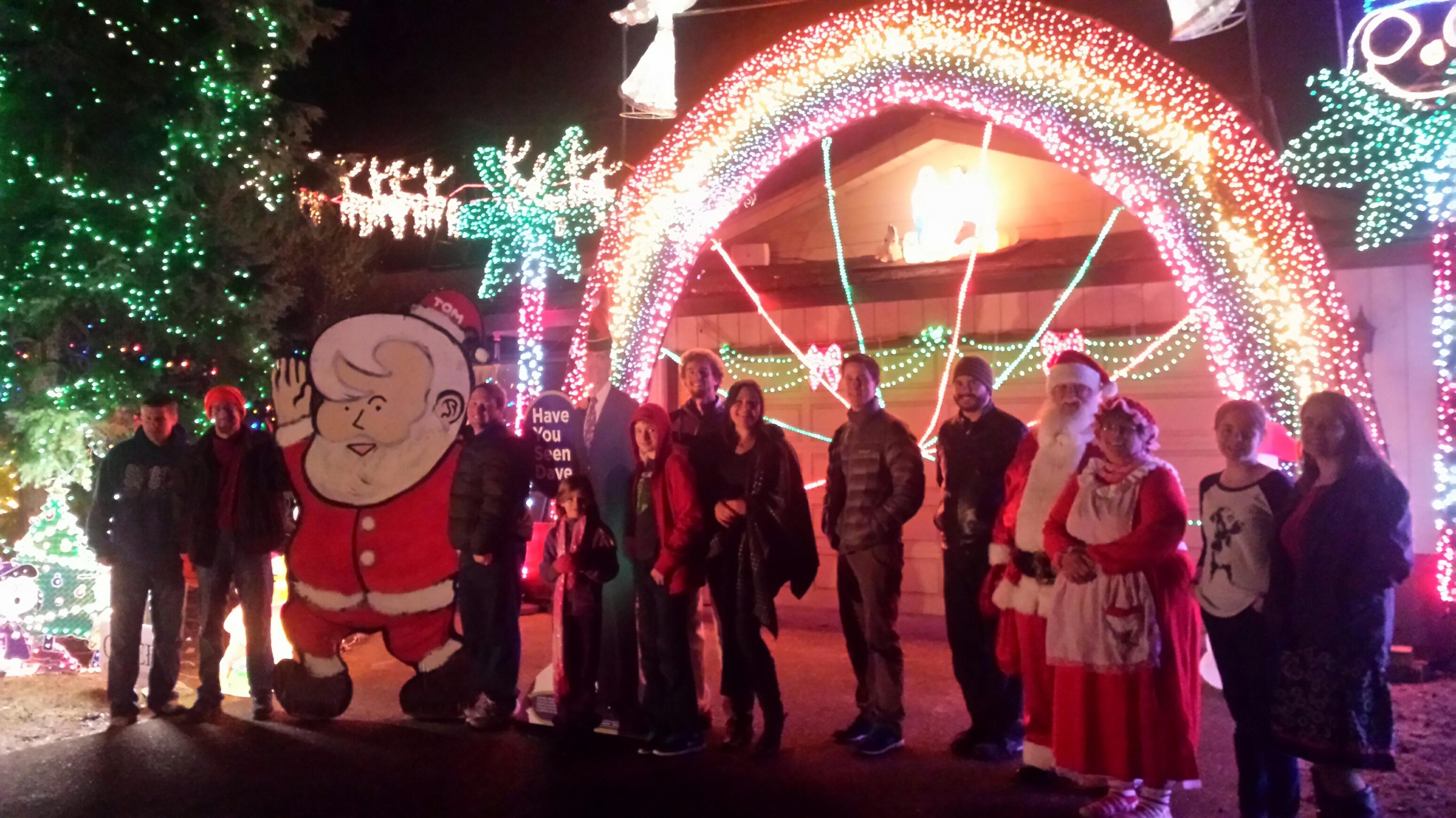christmas lights olympia