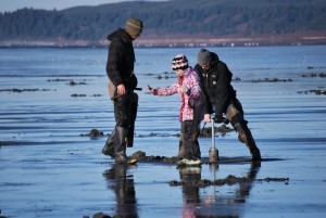 Razor Clam Dig @ Washington Beaches