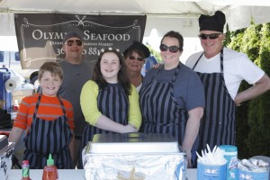 Olympia Seafood won the People's Choice award at the 2015 Chowder Challenge at Swantown Marina.