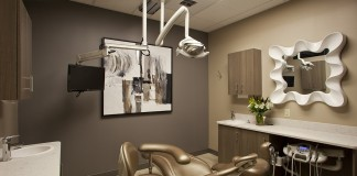 Tranquility Dental Wellness Center dental room