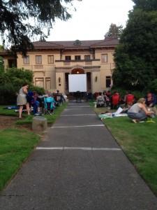 outdoor movie olympia