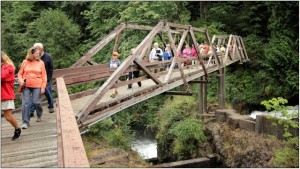 tumwater falls river walk tour