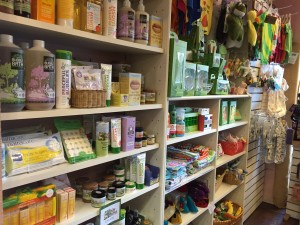 Radiance Herbs and Massage carries a wide selection of baby items from natural care products to toys, clothes, and feeding options.