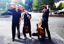 Olympia High School String Quartet