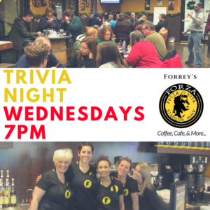 Trivia Night at Forrey's Forza in Lacey @ Forrey's Forza in Lacey | Lacey | Washington | United States