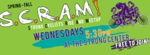 SCRAM: Strong Cyclists Ride And Meetup @ The Strong Center | Olympia | Washington | United States