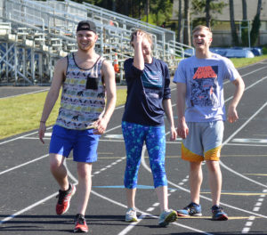 northwest christian track