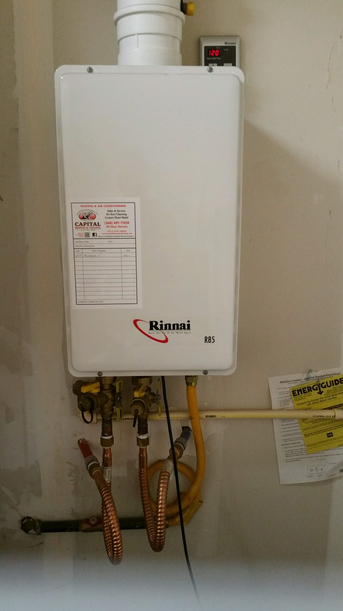 Pros and cons of gas tankless water heaters - Boggs Inspection Service A Tankless Hot Water Heater