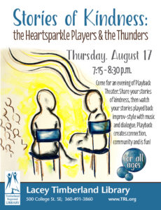 Stories of Kindness: The Heartsparkle Players & The Thunders @ Lacey Timberland Library | Lacey | Washington | United States