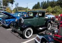 Little Creek car show