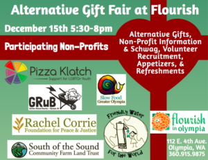Alternative Gift Fair @ Flourish in Olympia | Olympia | Washington | United States