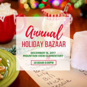 Holiday Craft Bazaar @ Mt. View Elementary School | Lacey | Washington | United States