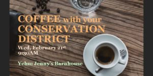 Coffee with your Conservation District @ Jenny's Barnhouse | Roy | Washington | United States