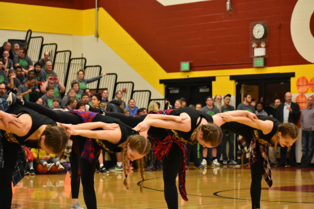 capital high school dance team