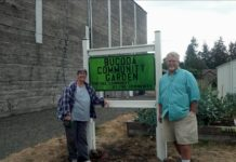 Bucoda Improvement Club Linda and Alan Vanell Community Garden