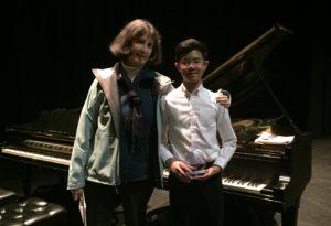 Piano teacher Brooke Beecher