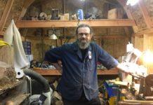 Woodturner Dave Charles