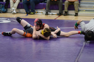 Gage Nelson, Yelm wrestling