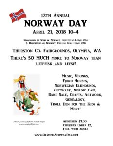 Norway Day @ Thurston County Fairgrounds Expo Center | Olympia | Washington | United States