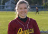 Peyton Uznanski Capital High School senior fastpitch