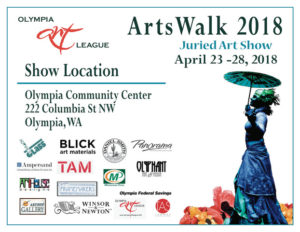 Olympia Art League's April Arts Walk Juried Show @ Olympia Art League's April Arts Walk Juried Show | Olympia | Washington | United States