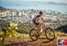 Cape Epic above Cape Town