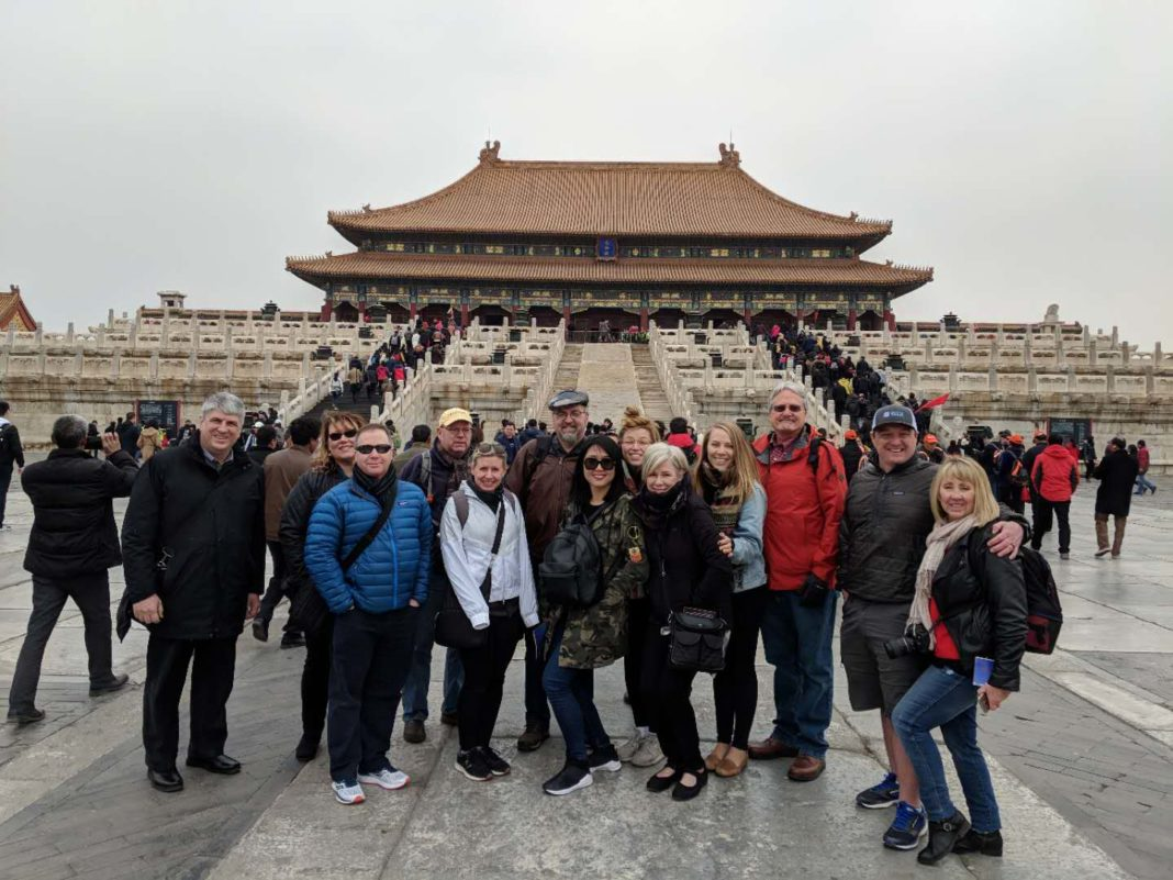 EDC Delegation in Beijing
