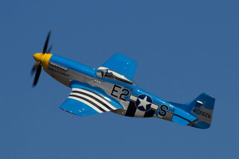 Olympia Air Show P-51 Mustang