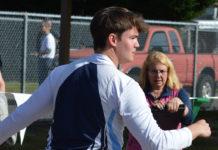 Olympia High School Toran effland javelin