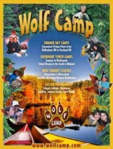 Wolf Camp - Wilderness Survival Craft @ Millersylvania State Park | Olympia | Washington | United States