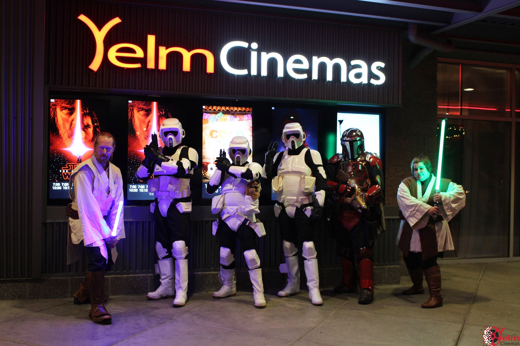 Yelm Cinemas Star Wars Solo Premiere 13 501st Legion