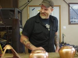 Jimmi Davies Making a Lamp