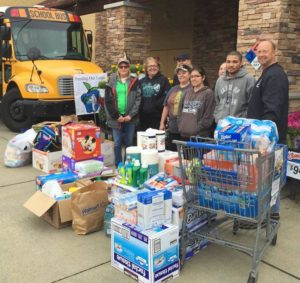 NTPS homeless students-education foundation stuff the bus