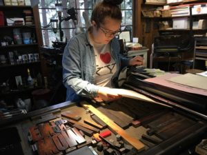 From Design to Print: Letterpress Posters to Get Out the Vote @ Arbutus Folk School | Olympia | Washington | United States