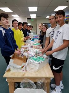Homeless Backpacks Bountiful Harvest Olympia High School Students