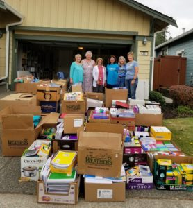 North Thurston Public Schools Compassion Project school supply drives