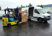 Thurston County Food Bank Vehicles