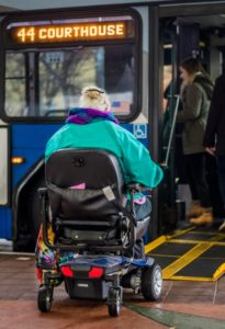 Intercity Transit Wheelchair Being Loaded