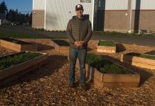 Evergreen Grad Freedom Farmers Learning Garden Blue Peetz