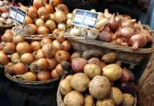Olympia Farmers Market Potatoes