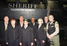 Thurston Sheriff CSU Volunteers and Armored Vehicle