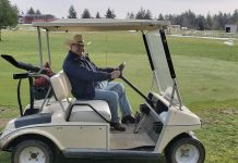 Bill at Gate Ranch Golf Course