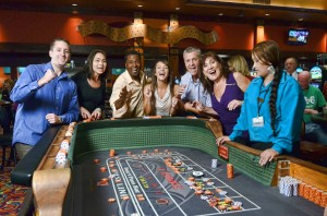 Players will find plenty of slots and table games in the Quinault Casino.