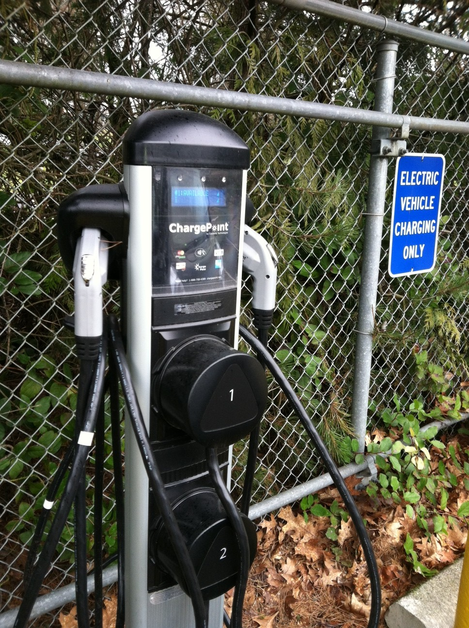 olympia charging station