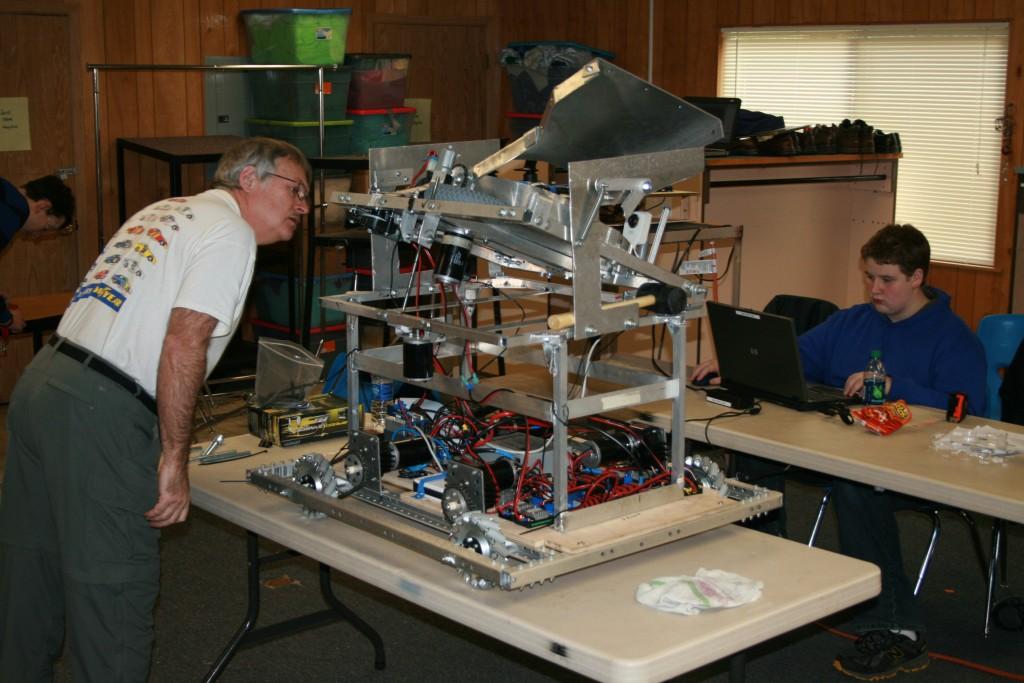 Robotics Rock! Team 4450 Racing Their Robots - ThurstonTalk