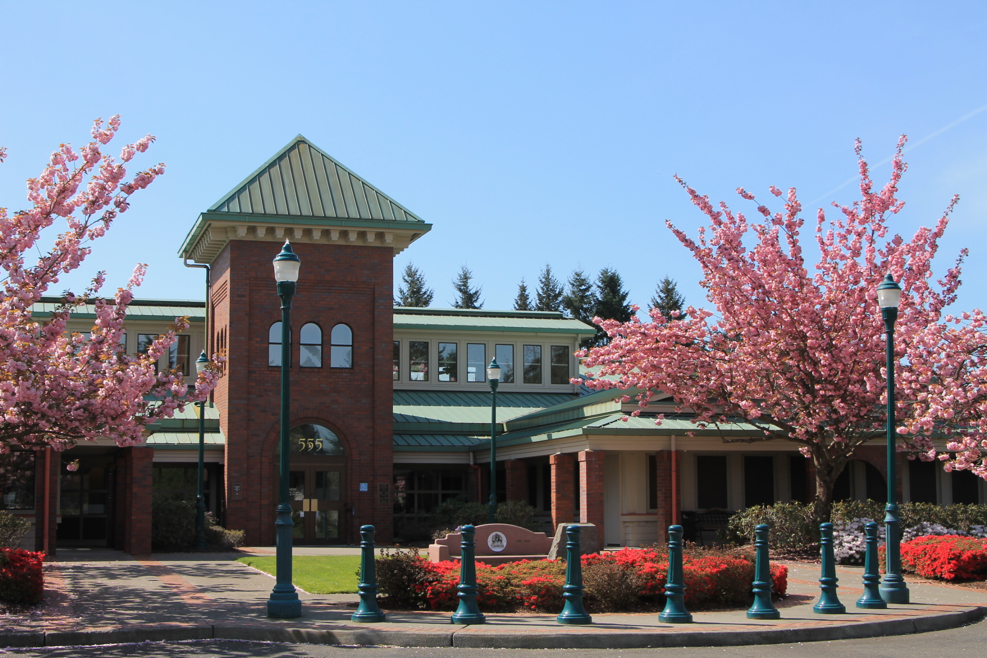 Annual Clean Up Drop Off Event At Tumwater City Hall