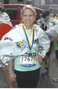 Maria Rogers completed the Boston Marathon this year, just four years after running her first marathon.