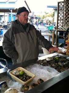 sound fresh oysters